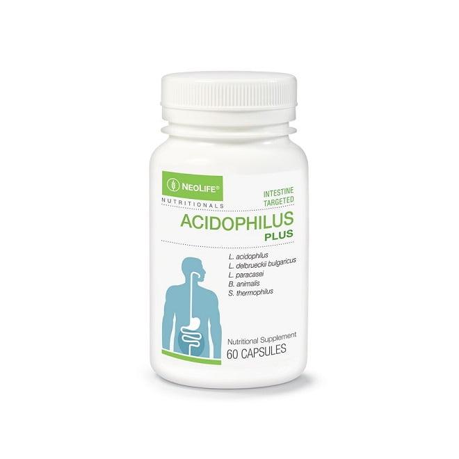 Acidophilus Plus - 60 Capsules